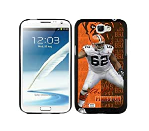 NFL&Cleveland Browns-Jason Pinkston Samsung Note 2 7100 Case Gift Holiday Christmas Gifts cell phone cases clear phone cases protectivefashion cell phone cases HLNKY605582911