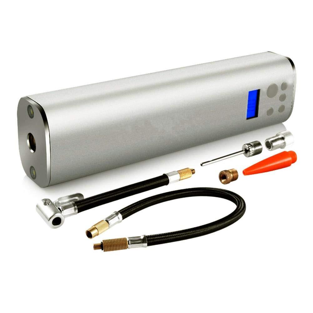 Easy-topbuy Multifonctionnel 60W Pompe /À Air /Électrique avec R/églage de la Pression dair Chargement USB Gonfleur pour Pneu Ballon Jouet