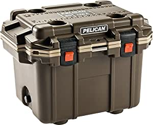 Pelican 30QT Elite Cooler - 30 Quart (Brown/Tan)