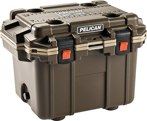Pelican 50QT Elite Cooler - 50 Quart (Brown/Tan)