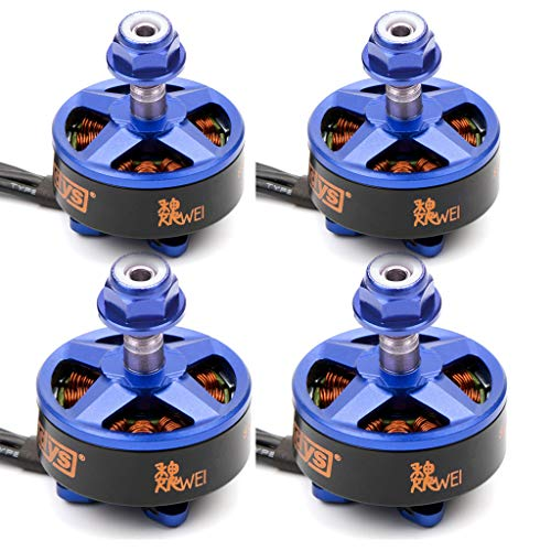 DYS Samguk Series Motor WEI 2207 3-4S Brushless Motor for RC Models FPV Quadcopters Multicopters Drones (2300KV)