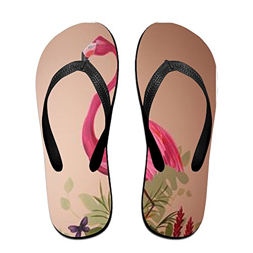 for Flamingos Flops Flip PTJHKET Men Kids Black Slippers Pink Women xXOAOWnq