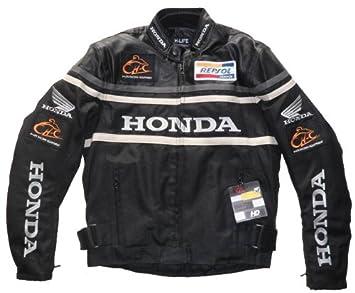 Honda para Hombre Chaqueta De Moto Agua Resistencia al viento con 5 protectores desmontable maletero XXL