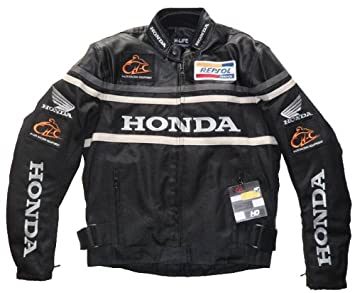 Honda para Hombre Chaqueta De Moto Agua Resistencia al ...