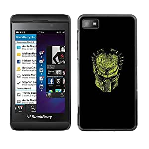SKCASE Center / Funda Carcasa - Máscara de hierro;;;;;;;; - Blackberry Z10