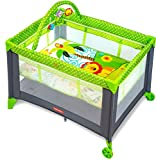 Fisher-Price Playmate Portable Baby Cot - Multi Color