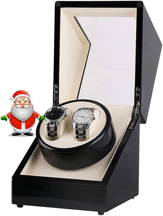 XNDCYX Caja Relojes Automaticos Silencioso Caja Giratoria para ...