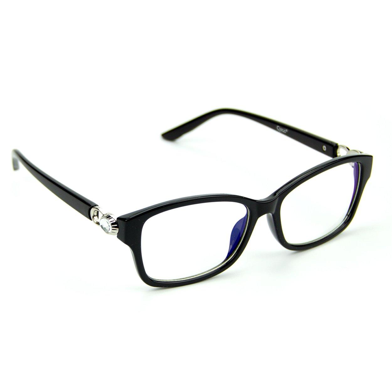 Cyxus Blue Light Filter (Transparent Lens) Anti Eyestrain Headache Vision Protection Computer Glasses Cyxus Technology Group Ltd