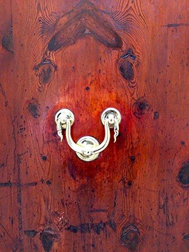 Home Comforts LAMINATED POSTER Art Nouveau Wood Handle Door Doorknocker Poster