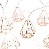Ling's moment 5Ft Rose Gold Diamond Geometric Boho