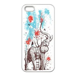Big elephant art Hard Snap Cell Phone Case Cover for For iphone 4s Case color12
