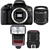 Canon EOS Rebel T6 18MP Digtal SLR Camera with 18-55mm IS STM Lens , TTL Speedlite Flash and Accessory Kit