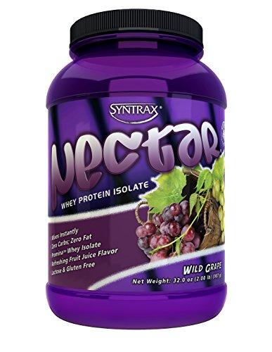 Syntrax Nectar Whey Protein Isolate, Wild Grape, 2 ()