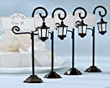 "60 ""Bourbon Street"" Streetlight Place Card Holders with Coordinating Place Cards"