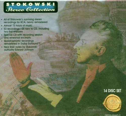 Leopold Stokowski Stereo Collection                                                                                                                                                                                                                                                    <span class=