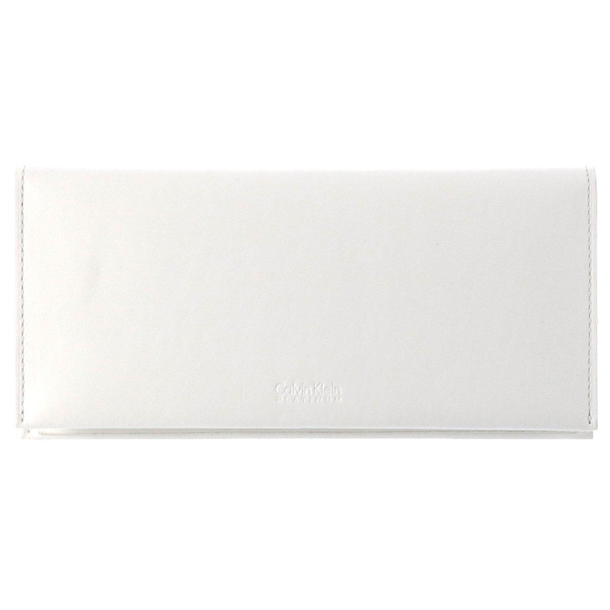 (カルバンクライン プラティナム)CalvinKlein PLATINUM 長財布 フォーカス 852605 CK シーケー B07CS1MKMM 【31】ホワイト