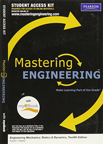 MasteringEngineering with Pearson EText - Valuepack Access Card - for Engineering Mechanics