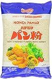 Shirakiku Panko Honey Bread Crumbs, 8-Ounce