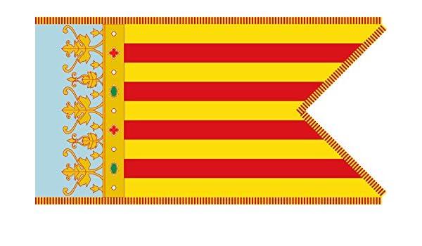 magFlags Bandera Large Real Señera Coronada, Reino de Valencia ...