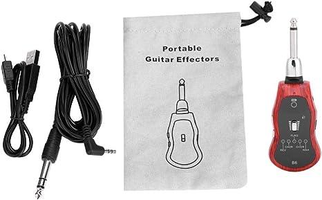 B6 Gitarre KopfhöRer Amp Mini Stecker Gitarren VerstäRker Bluetooth Wiedera I9V8