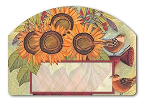 Amazoncom Yard Designs Magnetic Yard Art Sunflowers And Sparrows