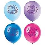 Unique Latex Disney Frozen Balloons, 8-Count, 12-Inch