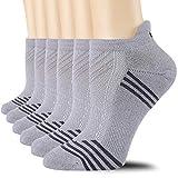 CelerSport Ankle Athletic Running Socks Low Cut Tab Sport Socks for Men and Women