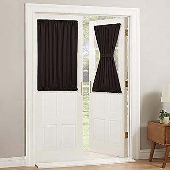 Amazon Com Pony Dance Door Curtains Short Rod Pocket