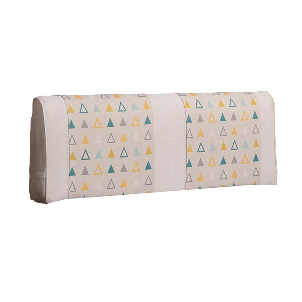 GLP ベッドサイドクッションノルディック風のベッドカバーダブル畳の大きなバックベッドソフトパックモダンなミニマル枕、8サイズ&6色 (Color : 5#-No headboard, Size : 180x10x58CM) B07RQTQZY4