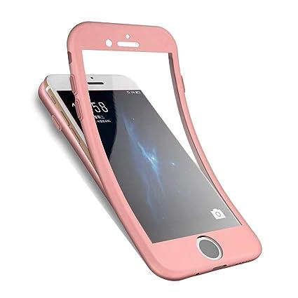 Ysimee Funda iPhone 7,Case iPhone 7 360