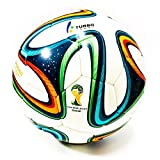 2014 fifa world cup ball - Turbo Sport FIFA 2014 Brazuca Soccer Ball Replica White