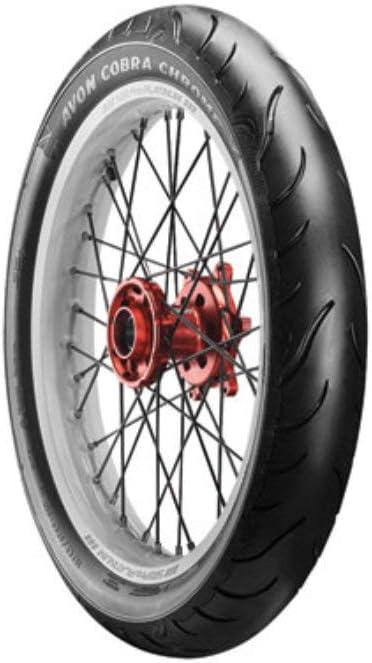 Avon Cobra Chrome AV91 Front Motorcycle Tire 130//70R-18 Black Wall for Yamaha Stratoliner S XV1900 2006-2010 63V