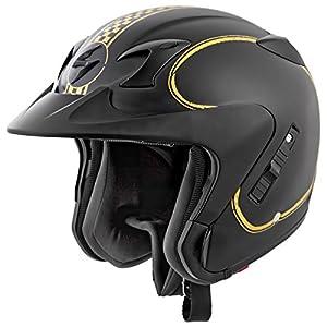 Scorpion EXO-CT220 Bixby Motorcycle Helmet (Black, Medium)