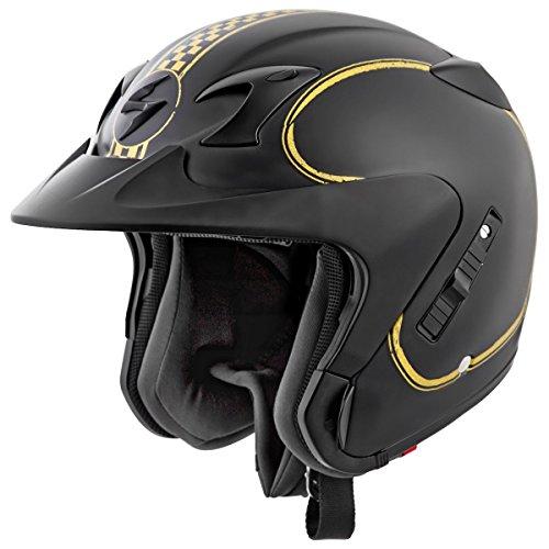 Scorpion EXO-CT220 Bixby Motorcycle Helmet (Black, Large)