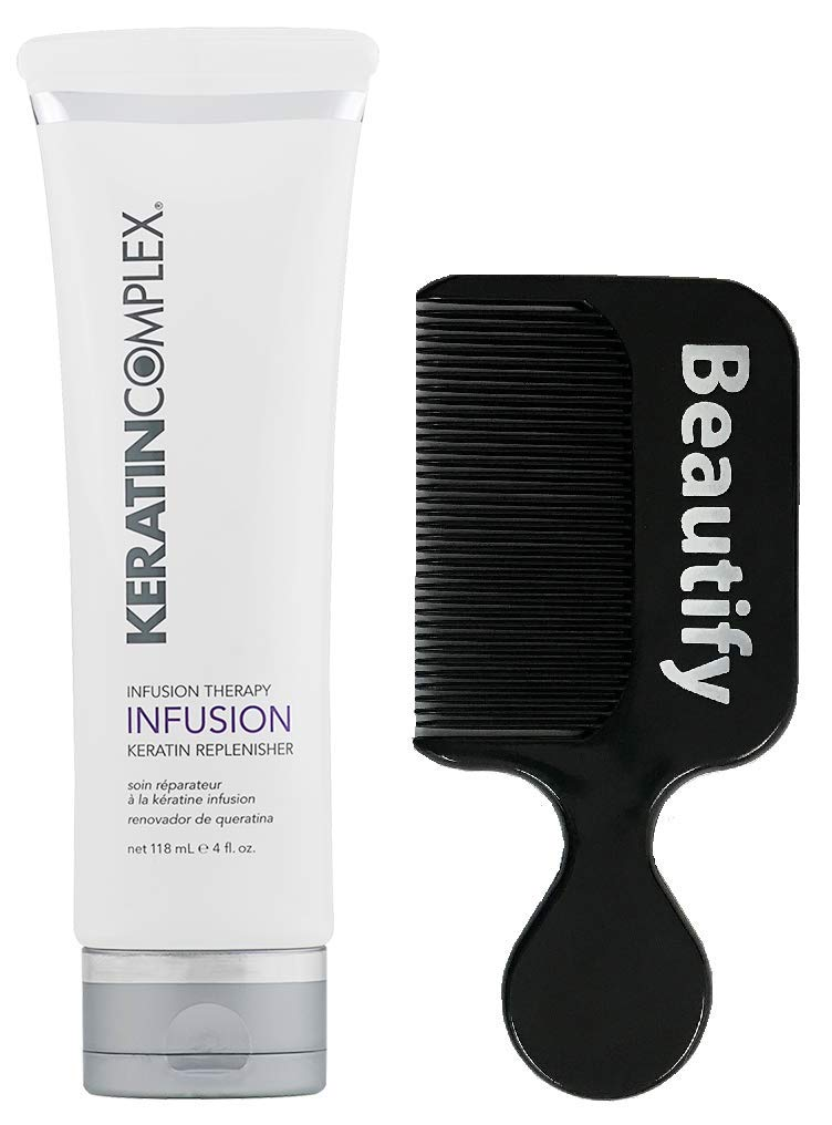 Keratin Complex Infusion Therapy Keratin Replenisher 4 Ounce With Beautify Comb by Keratin Complex (Image #1)