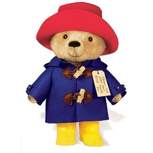 Paddington Paddington Bear stuffed toy 10 inches (25.4cm) yellow boots bear bear animal doll toy movie character [parallel import goods] from YOTTOY