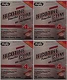 Nicotine Gum 4mg Sugar Free Coated Cinnamon Generic