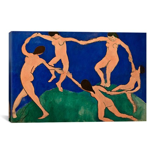 iCanvasART The Dance I by Henri Matisse Canvas Art Print, 40 by (Henri Matisse Artwork)