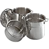 All-Clad Unisex Multi Cooker Stainless Steel Stock Pot