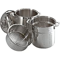 3-Piece All-Clad 12-Quart Multi Cooker Cookware Set ( Factory Second Quality)