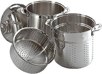 3-Piece All-Clad 12-Quart Multi Cooker Cookware Set