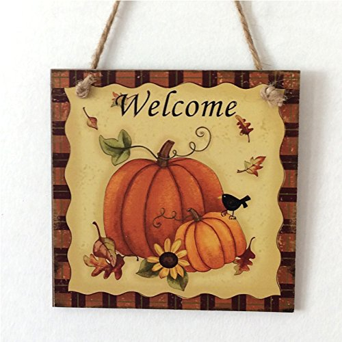 Zehui Wooden Door Plaque Thanksgiving