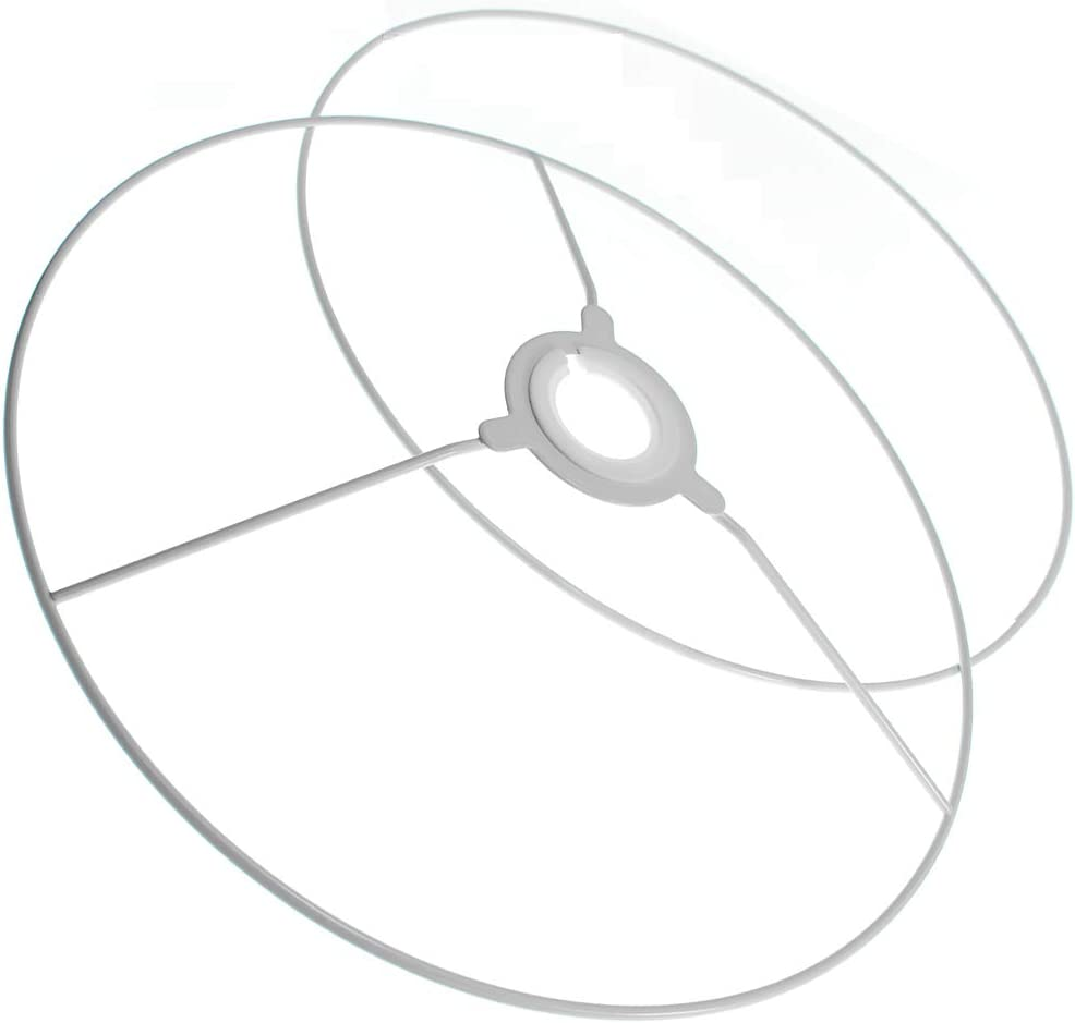 30cm Metal Ring Set for Making Light /& Lamp Shade Crafts