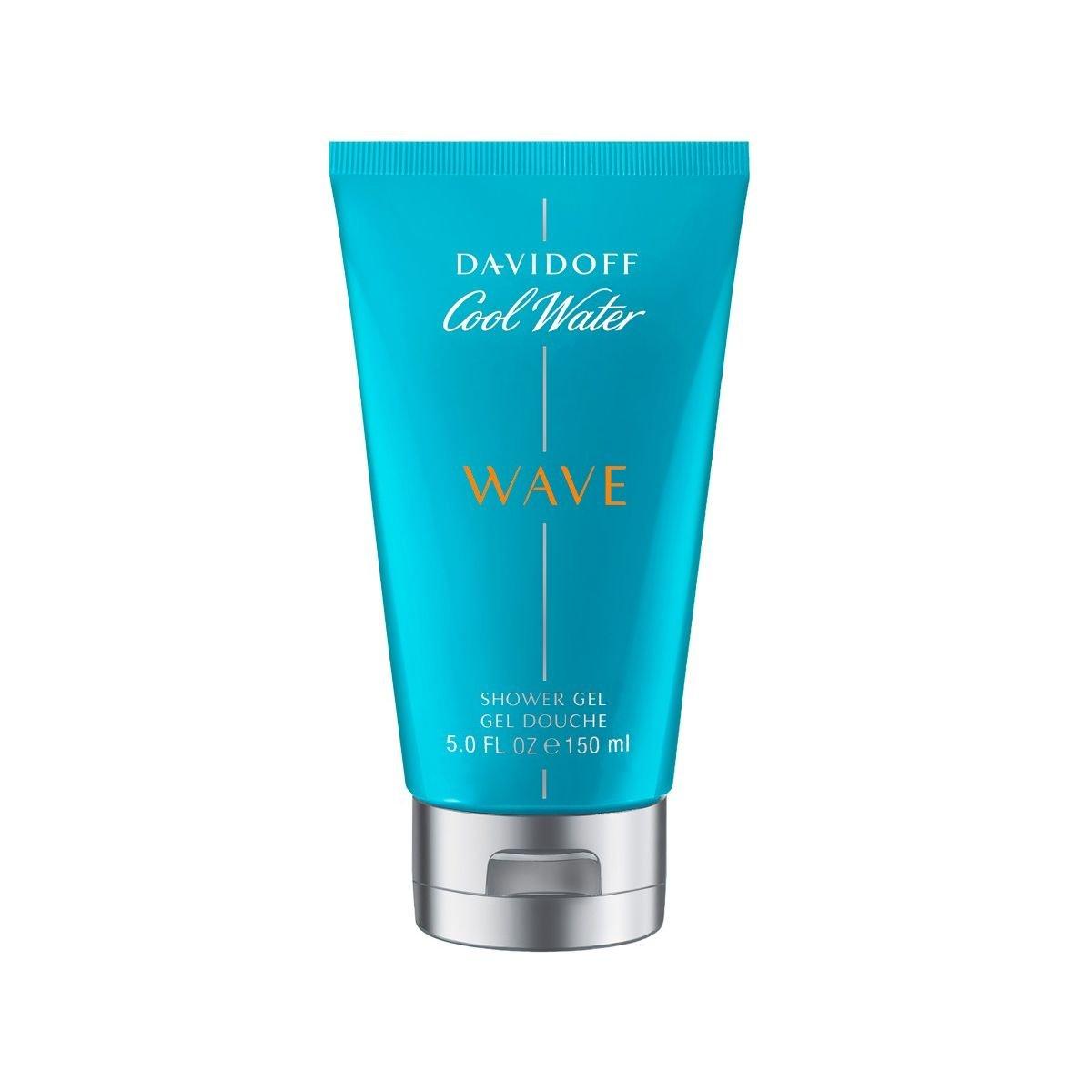 Davidoff Cool Water Wave - Gel doccia da uomo, 150 g 3614223380138