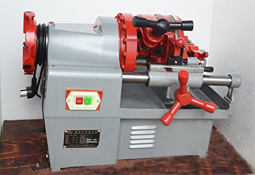 220V Efficient 2 Inch Tube Electric Pipe Cutting Threader Twisted Machine#021172 by Unknown