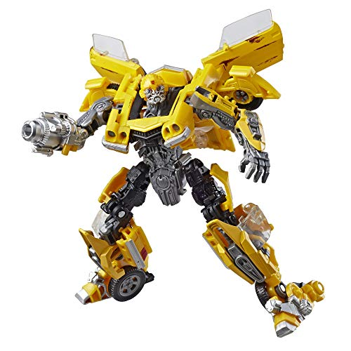 Transformers Studio Series 27 Deluxe Class Movie 1 Clunker Bumblebee Action Figure (Transformers Dark Of The Moon Barricade Toy)