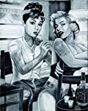 James Danger Harvey - Audrey & Marilyn Tattoo Movie Poster