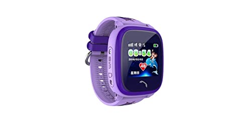 Smartwatch para niños IP67 Swim GPS Touch reloj inteligente SOS Call Location Dispositivo Rastreador Kids Safe