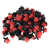 SODIAL 200 Pcs Adjustable Irrigation Sprinkler Drip Irrigation System ,Drip Adjustable Emitters