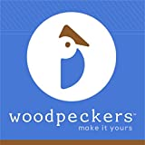 "Woodpeckers Square Dowel Rods 1/4"" X 36"" (10 Pack)"